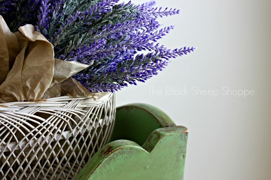 Lavender bundles.