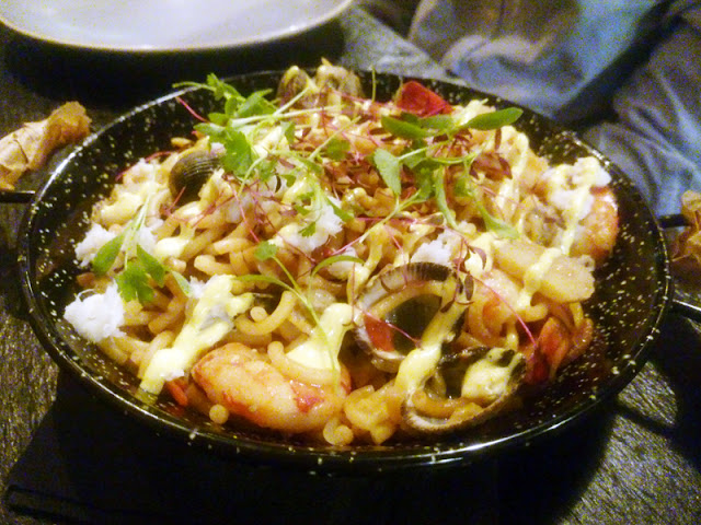 seafood fiduea - Senor Buddha Brighton