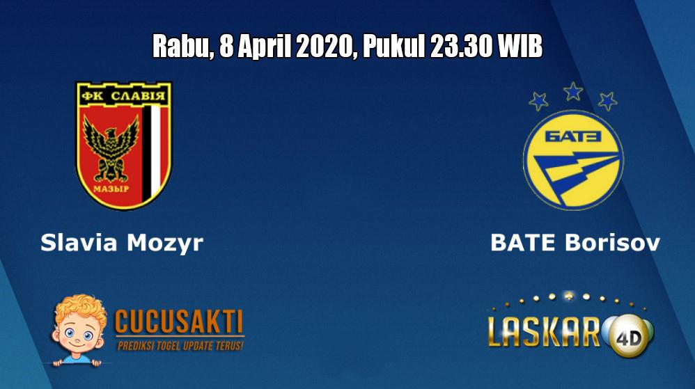 Prediksi Slavia Mozyr VS BATE Borisov 8 April 2020