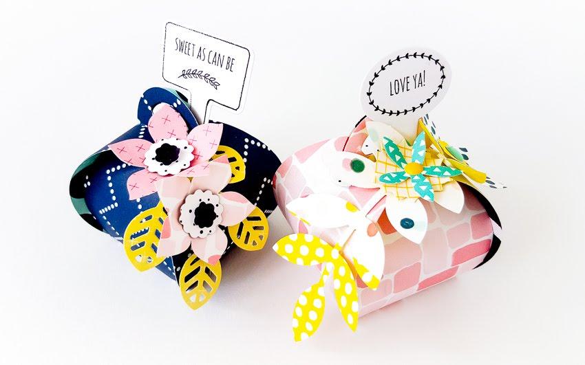 Paperflower Giftwrapping | Janna Werner | Instagram: jannawerner