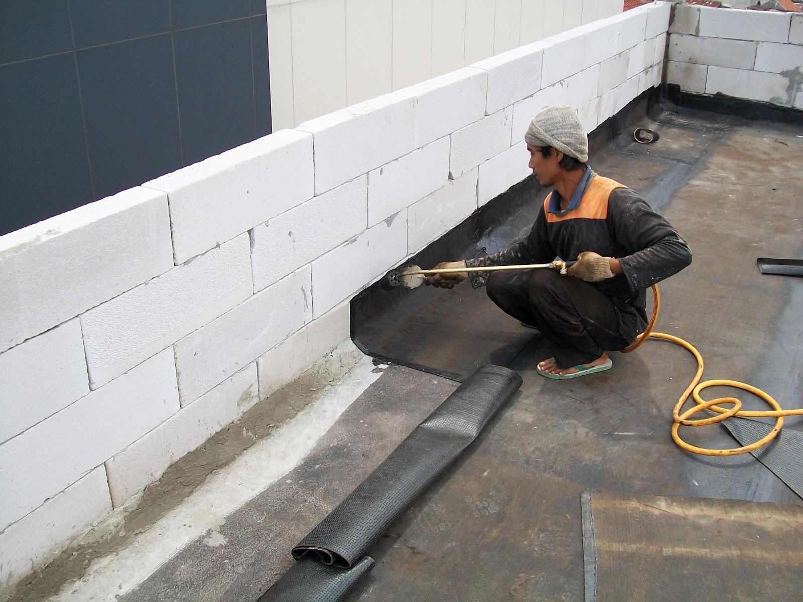 Waterproofing Membrane Bakar Untuk Atap Dan Basement