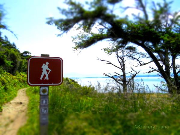 beach hiking trail, Ft. Ebey