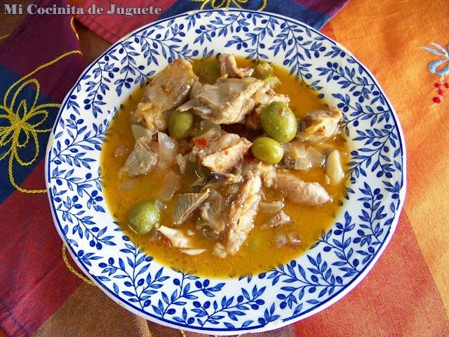 Cordero Morisco con Aceitunas y Limón