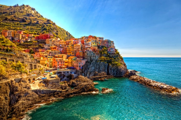 7. Manarola - Top 10 Italian Coastal Sites