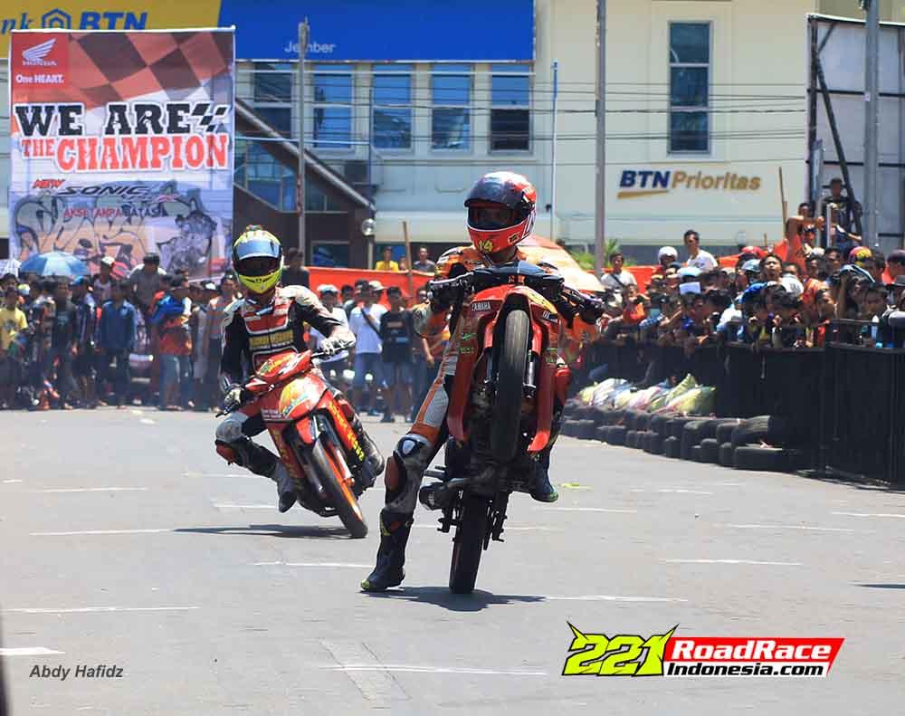 Hasil Road Race Jember 2015, Madura Menggila Lumajang Menyerang