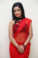 Aasma Syed in Red Saree Sleeveless Black Choli Spicy Pics ~  Exclusive Celebrities Galleries 087.jpg