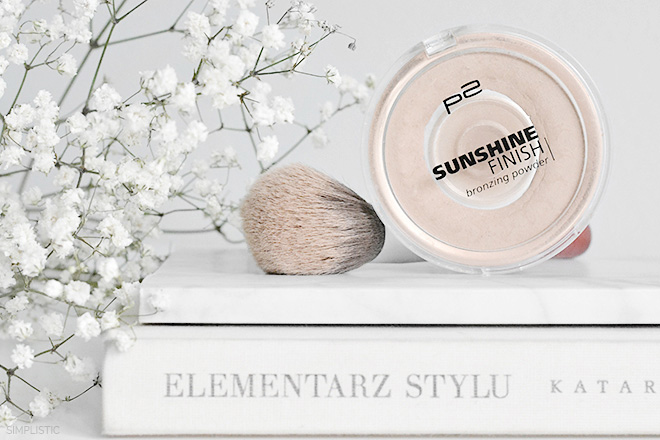 bronzer p2 sunshine finish