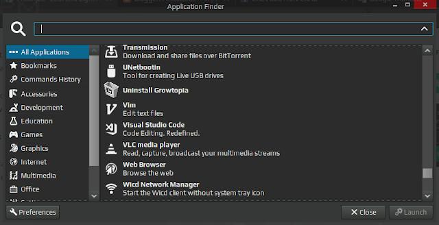 Application Finder