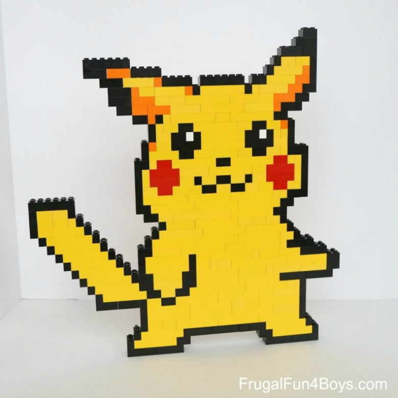 lego pokemon design - Pokemon crafts for kids