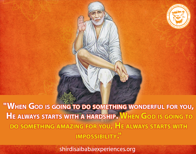 Shirdi Sai Baba Blessings - Experiences Part 2609