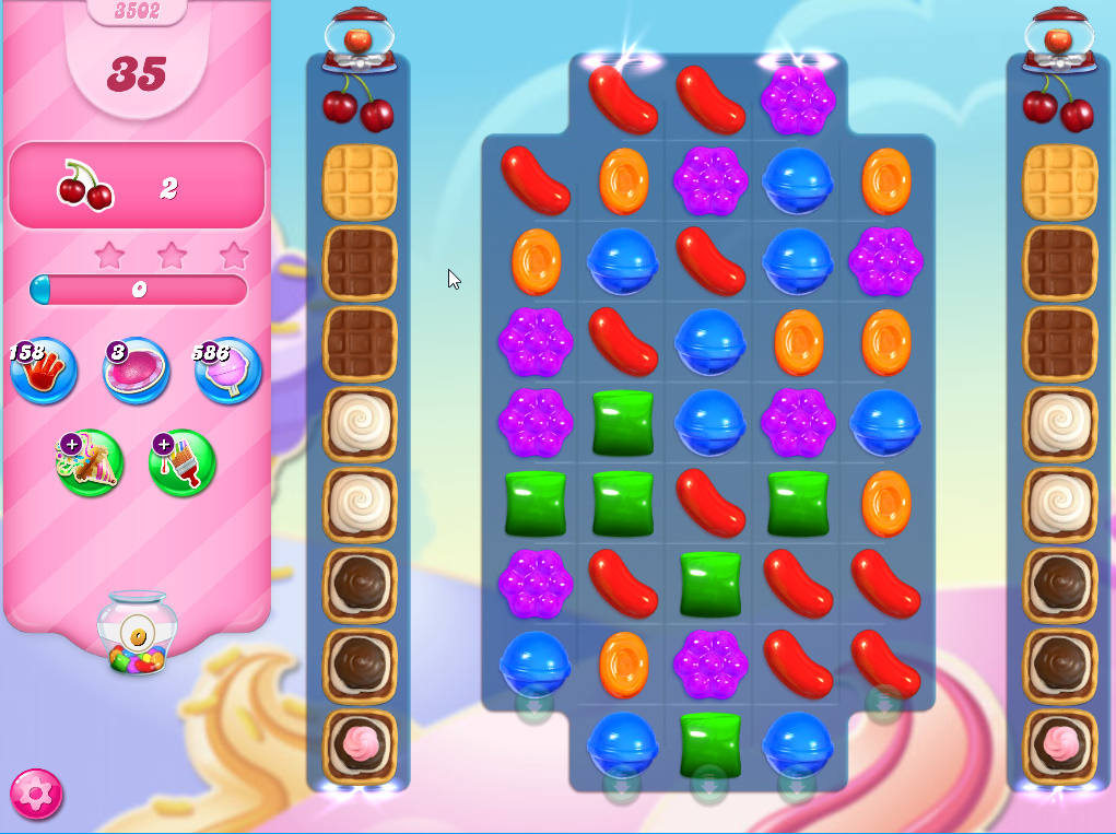 Candy Crush Saga level 3502