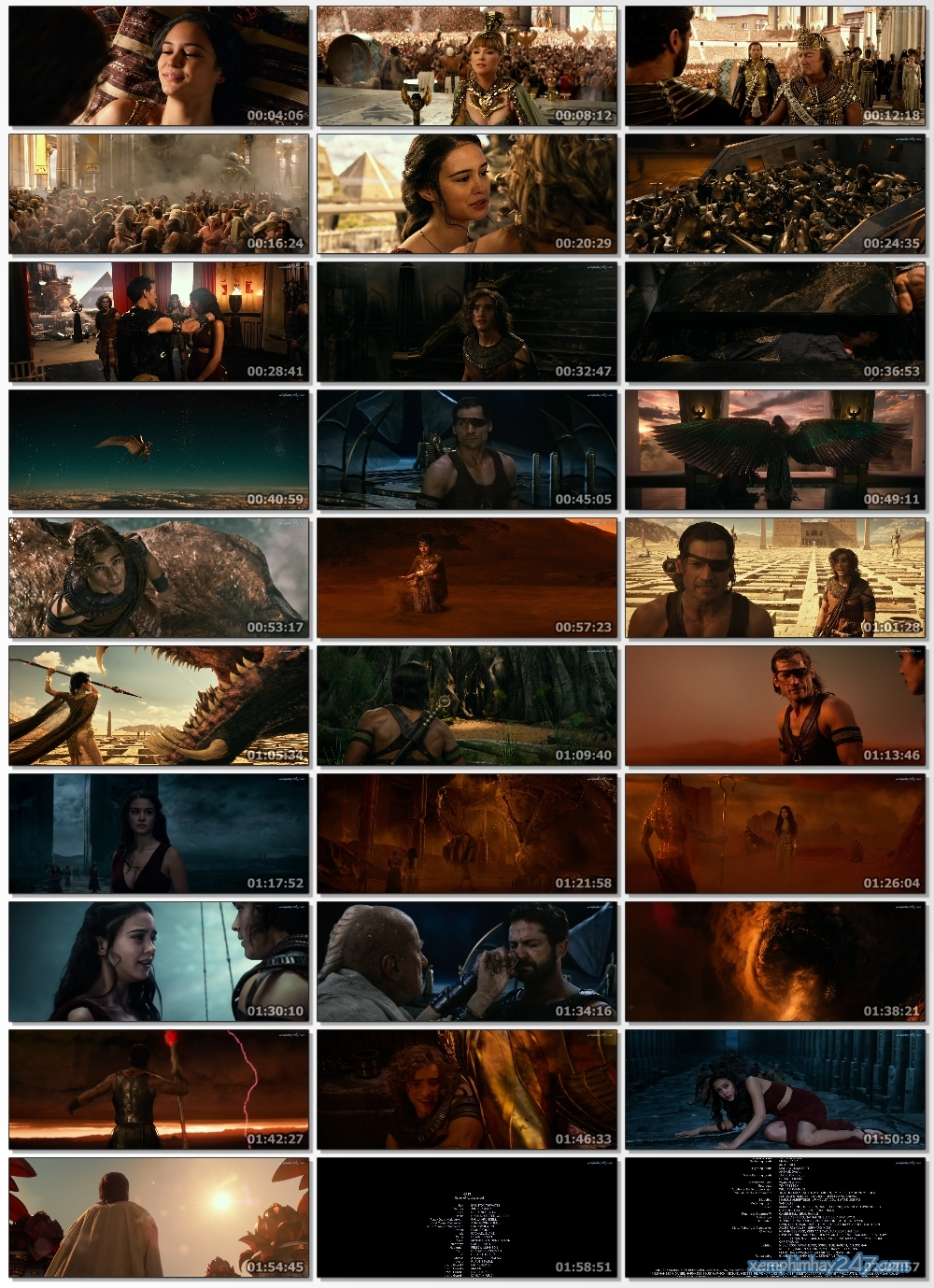 http://xemphimhay247.com - Xem phim hay 247 - Các Vị Thần Ai Cập (2016) - Gods Of Egypt (2016)