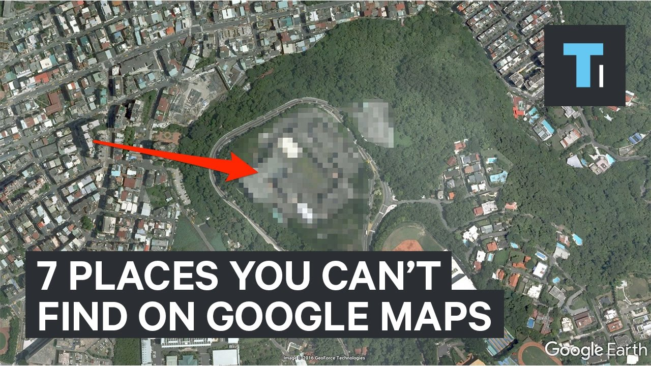 7 places you can't find on Google Maps [video]