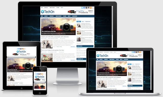 TechOn Blogger Template