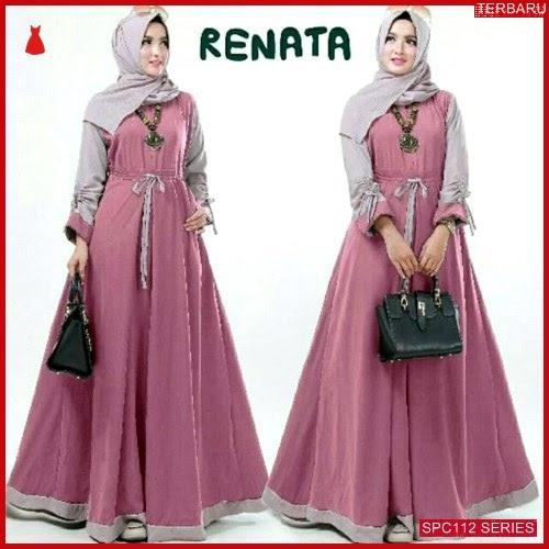 SPC112R41 Renata Maxy Syari Gamis Dress Muslim Wanita | BMGShop