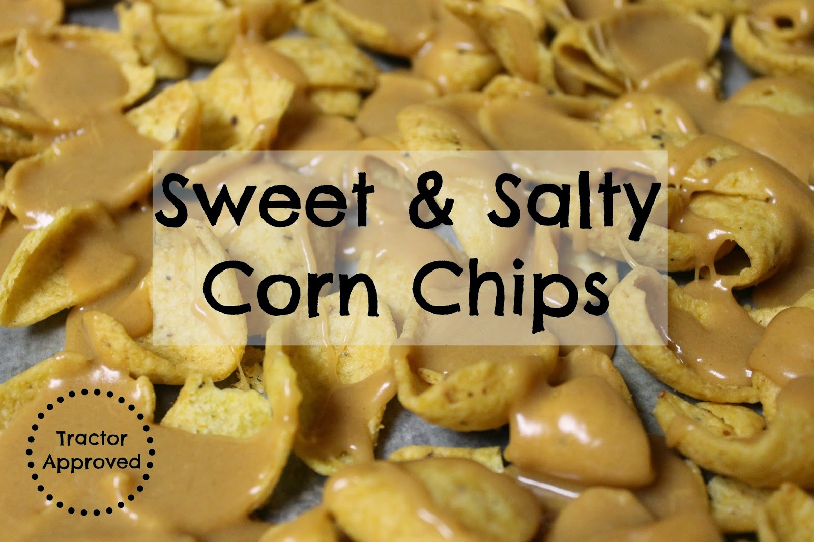 Sweet & Salty Corn Chips snack recipe