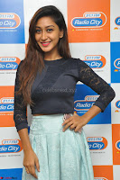 Shravya in skirt and tight top at Vana Villu Movie First Song launch at radio city 91.1 FM ~  Exclusive 15.JPG