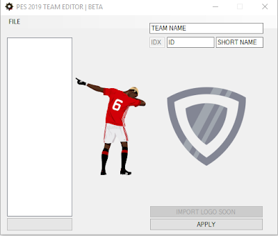 PES 2019 Team Editor Beta by MFZ69