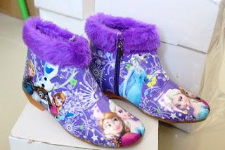 Sepatu Frozen Anak Perempuan Cantik
