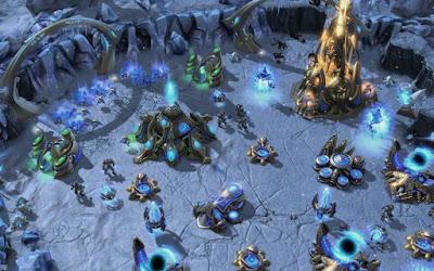 Starcraft II wing of liberty estructuras
