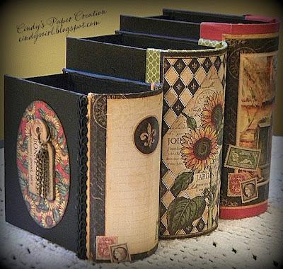 book box style desk organizer