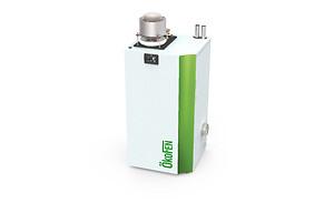 caldera pellets generación eléctrica