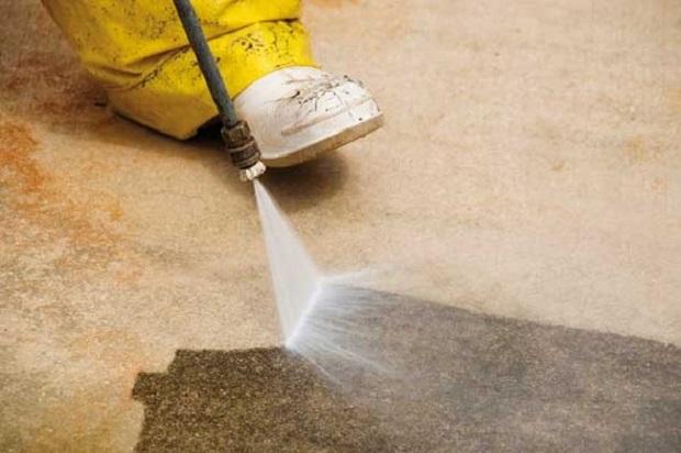 limpieza azoteas agua alta presión sevilla