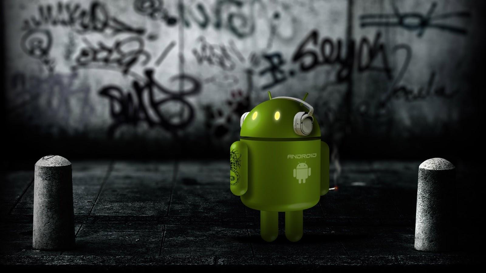 Dark Android Wallpaper
