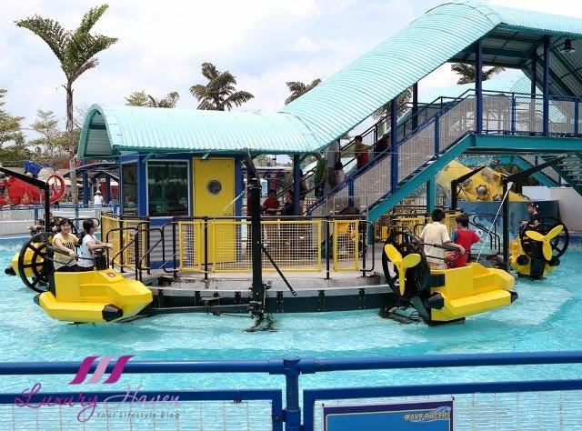 legoland malaysia resort aquazone wave racers