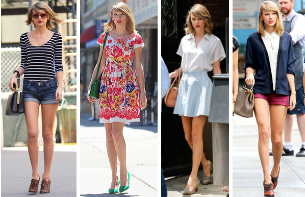 5abd4aa9034f Knots and Ruffles  Get the Style  Taylor Swift Summer Street Style