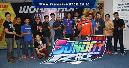 Yamaha Ajak Peserta Sunday Race Siapkan Tunggangannya