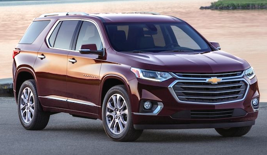 2019 Chevy Traverse Redesign