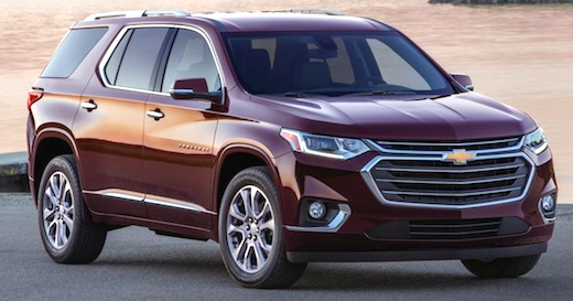 2019 Chevy Traverse Redesign - Cars Authority