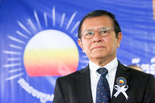 Kem Sokha has been laying low at his party's headquarters to avoid arrest. KT/Chor Sokunthea