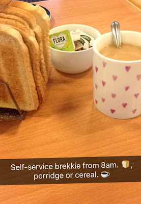 Day in the Life - Psychiatric Inpatient - breakfast