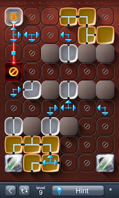 Solution for Laser Box - Puzzle (Advanced) Level 9