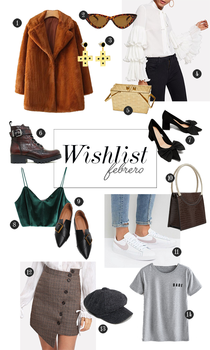 wishlist moda tendencias 2018