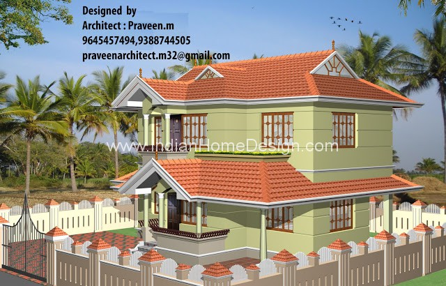 11 Spectacular New Indian Home Design 3D views | penting ayo di share