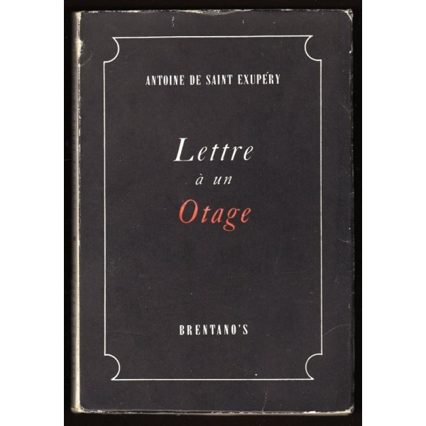 la ventana de clod lettre un otage carta a un reh n de saint exup ry. Black Bedroom Furniture Sets. Home Design Ideas