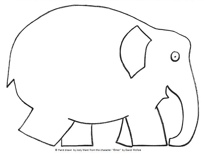 elmer the elephant printables online. Black Bedroom Furniture Sets. Home Design Ideas