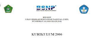 Kisi-Kisi USBN SMA/SMK PAI KTSP