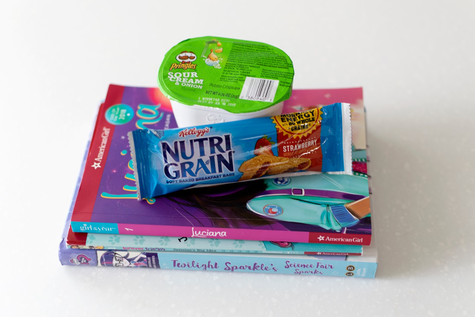 back to school free book program kelloggs scholastic target pringles nutrigrain reading kids read girl nook corner