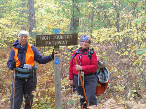 hikers at the High Country Pathway