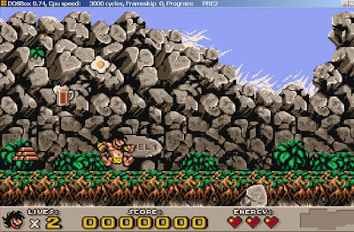 Prehistorik 2 Game Screenshots 1993
