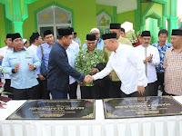 Wali Kota & Wakapolri Resmikan Masjid Al Muslimin