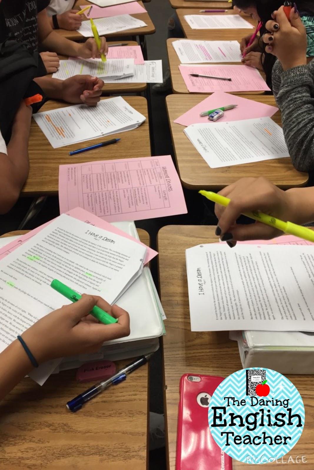 The Daring English Teacher Close Reading Strategies That Work