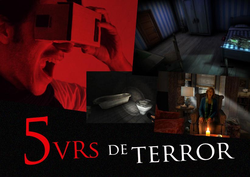 VR de terror jogos app