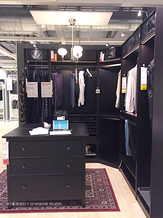 ideas for closet organization at IKEA, walk in closet ideas, clothing storage