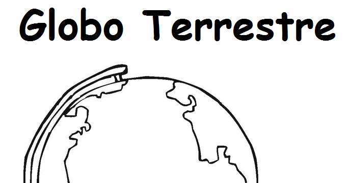 Desenho Do Globo Terrestre Para Imprimir Auto Electrical Wiring