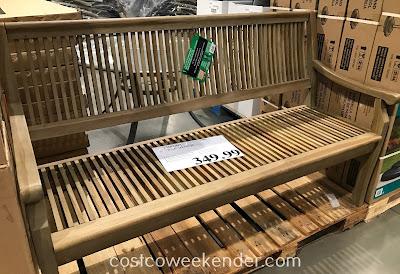 5 Teak Wood Bench Costco Weekender